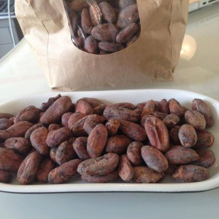 Superfood cacao beans - I was given these by my beautiful friend Telv