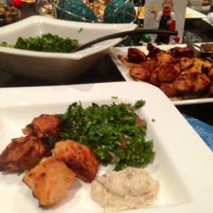 Taboula and high quality dates