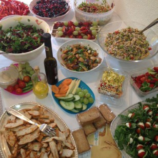Healthy buffet food ideas